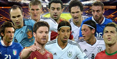 kandidat pemain terbaik Euro 2012