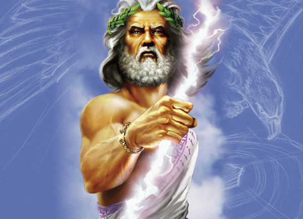 Zeus, king of Gods
