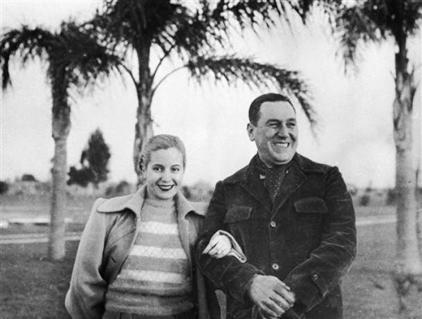 Juan Peron dan Eva